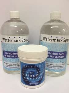 Whirlpool Bath Cleaning Pack with Tablets and Fluid