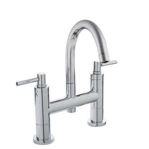 Hudson Reed Tec Lever Small Spout Bath Filler TEL353