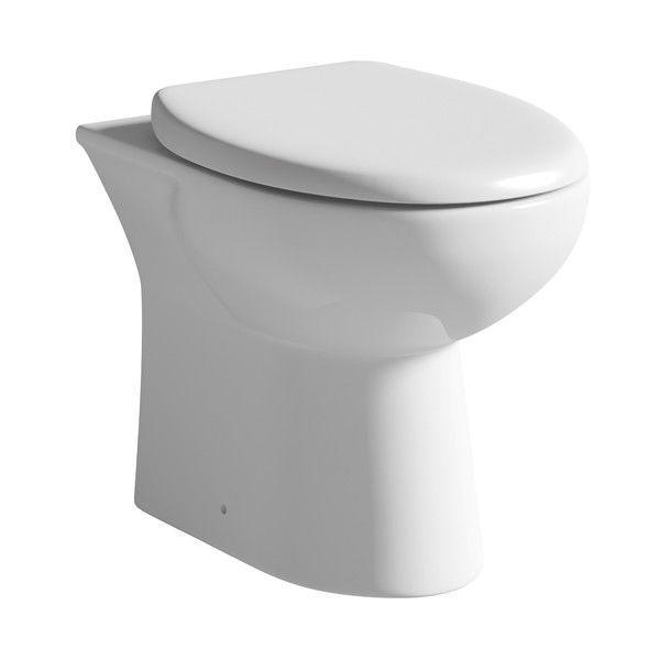Moods Naples Back To Wall Toilet with Soft Close Seat
