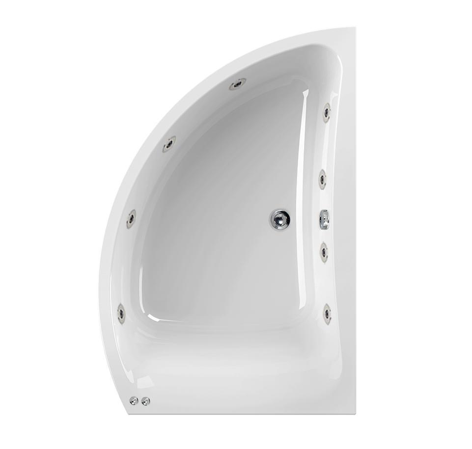 Right Hand Aquamaxx Comet 8 Jet Whirlpool Bath