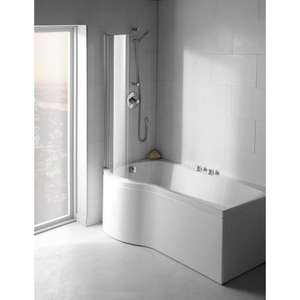 Carron Delta Bath Screen C Shape Screen 6 mm 69.0140 LH