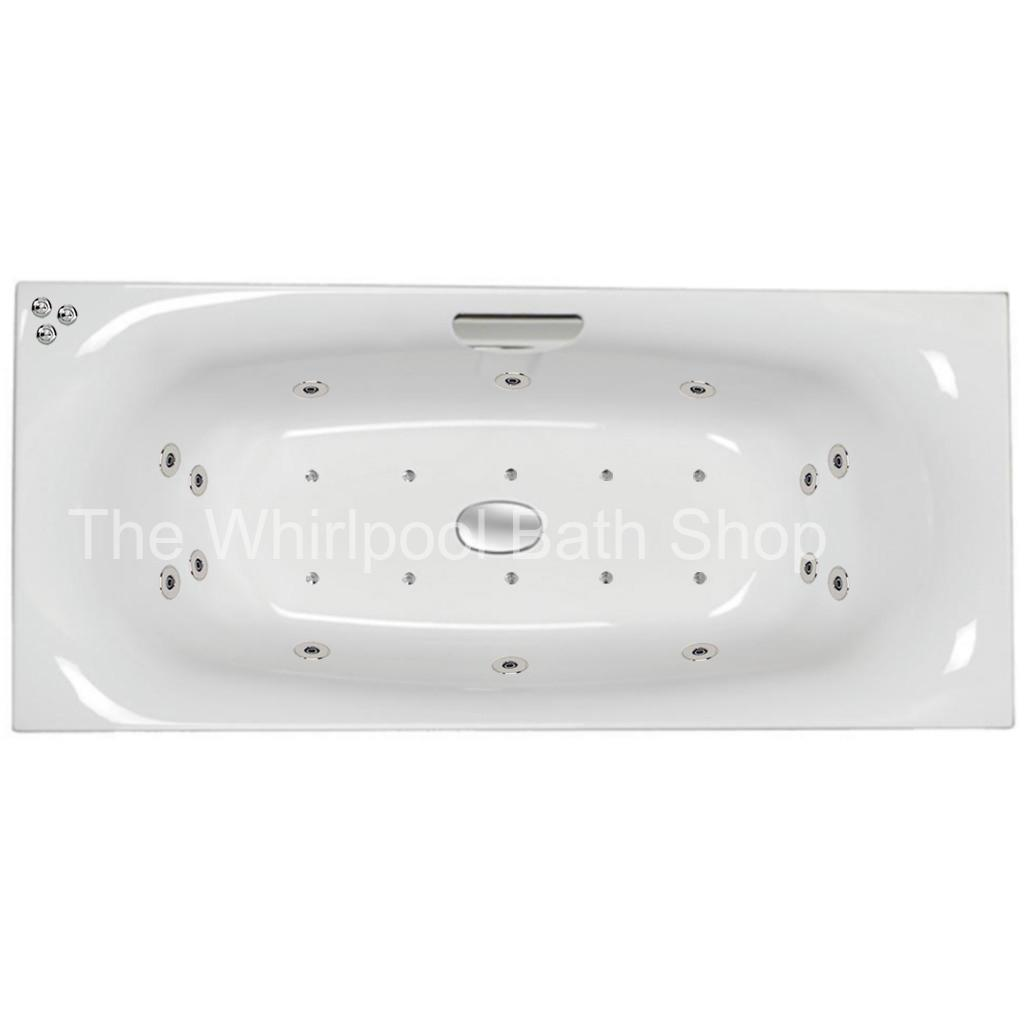24 jet Carron Echelon 1800 x 800 mm Whirlpool Bath