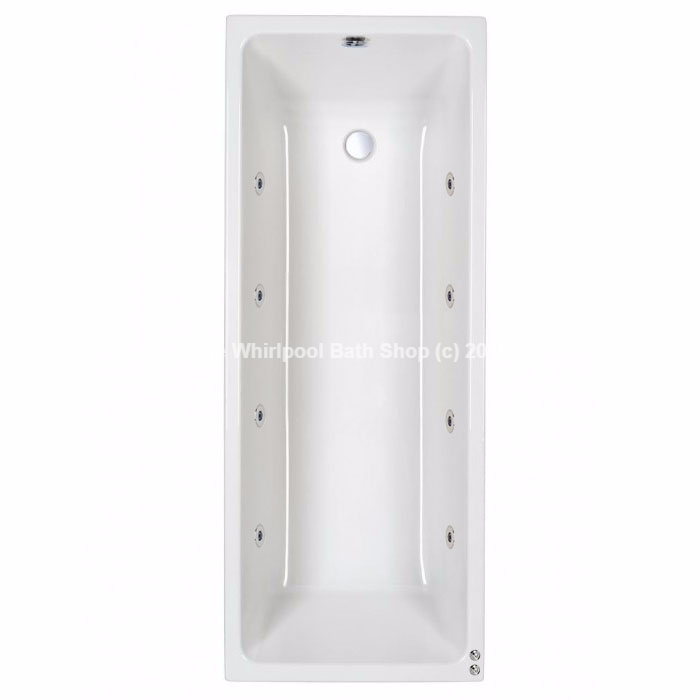 Carron Quantum 1600 x 800 mm Whirlpool Bath