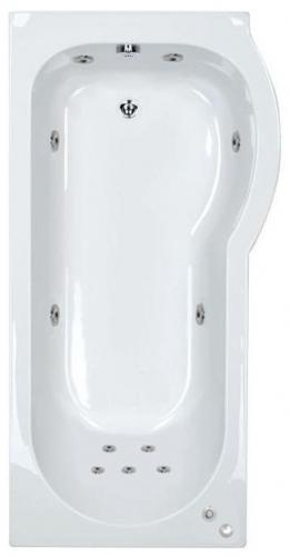 RH Concept 11 Jet P Shape Bath | Free Light
