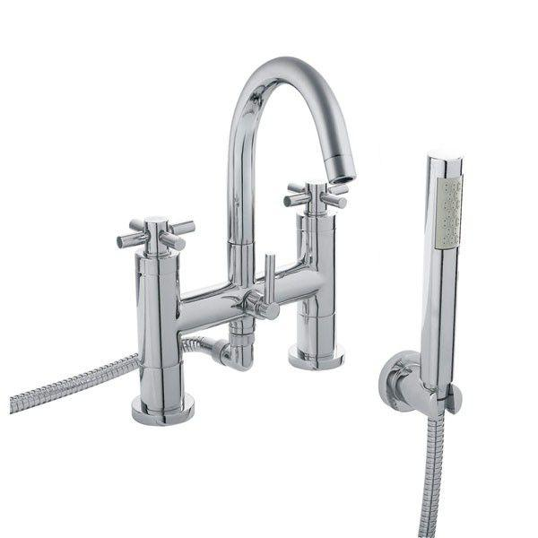 Hudson Reed Tec Crosshead Bath Shower Mixer Small Spout TEX354