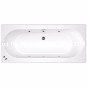 6 Jet Trojan Cascade Double Ended Bath
