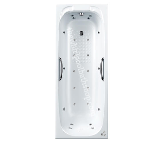 Carron Swallow 1800 mm x 700 mm 24 jet Whirlpool Bath