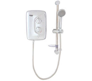 Flexifit - Aqua 3500M Chrome Electric Shower 9.5 KW