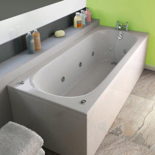 How do whirlpool baths work