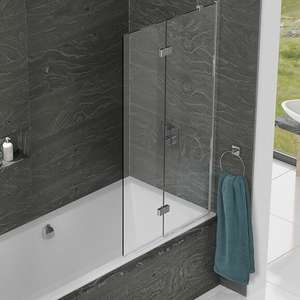 WBS Right Hand Standard Duo Panel Bath Screen