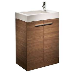 Tavistock Kobe 560mm Walnut Floorstanding Vanity Unit & Basin K5
