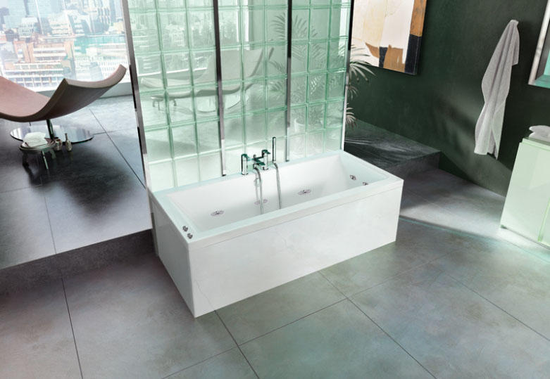 Cleargreen Enviro 1700 x 750 10 Jet Whirlpool Bath
