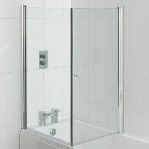 Type 1 Shower Screen with Optional Return to form an enclosure
