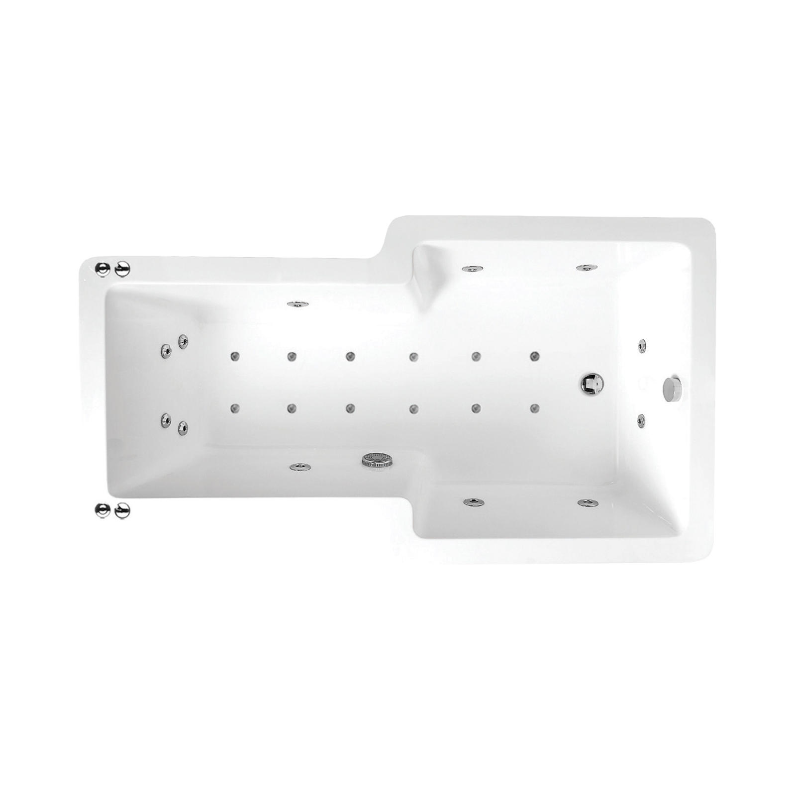 Body Zone Ceres 24 Jet Bath