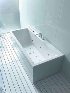 Duravit Vero Whirlpool Bath 1800 x 800 mm