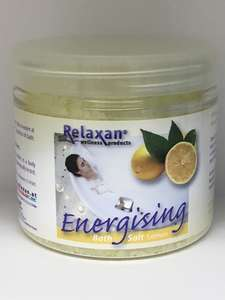 Energising Lemon Sea Bath Salts for Whirlpool & Jacuzzi Baths