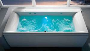 Carron Haiku 1700 x 800 Duo Whirlpool Bath