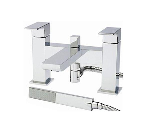 Hudson Reed Art Bath Shower Mixer with Shower Kit ART304