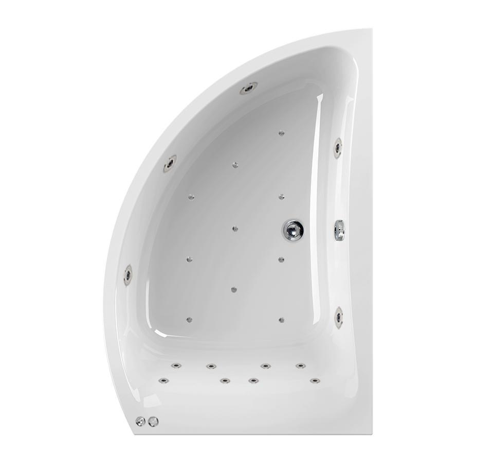 Right Hand Aquamaxx Comet 24 Jet Whirlpool Bath