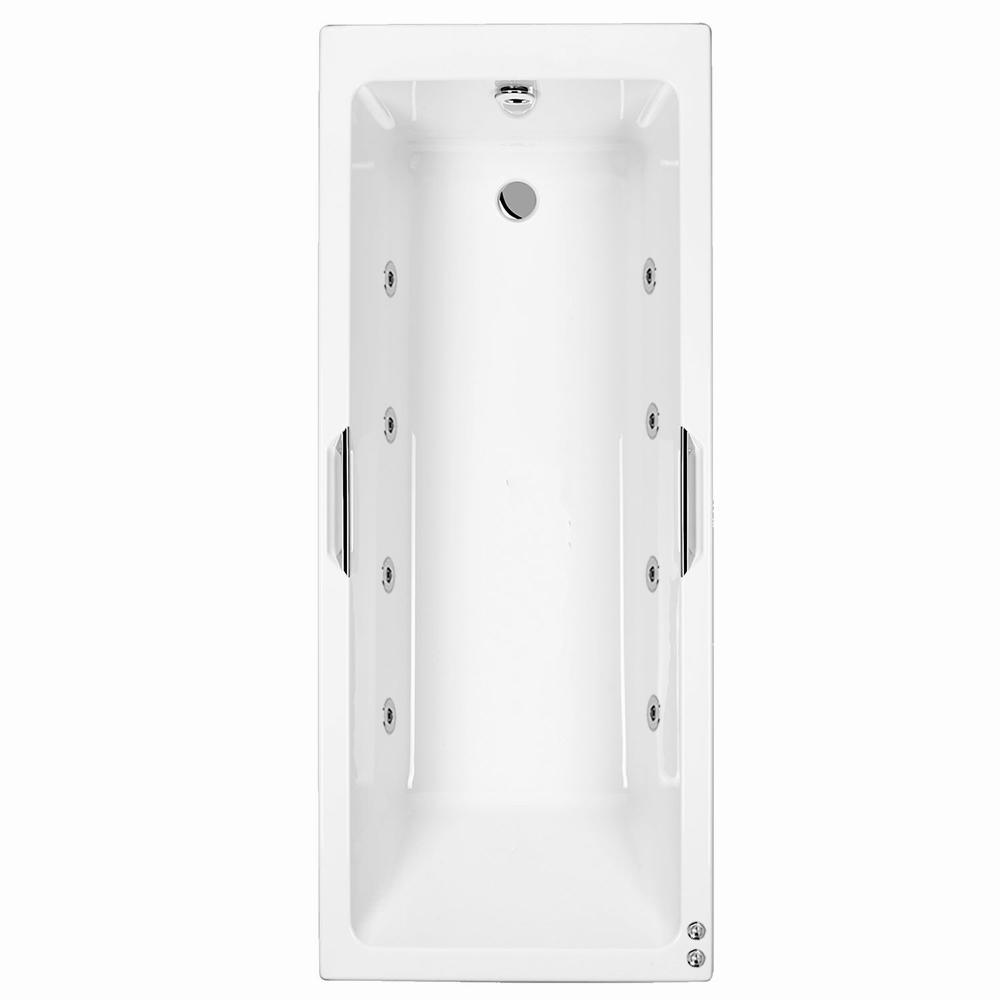 Carron Quantum Integra 1500 mm 8 jet Whirlpool Bath