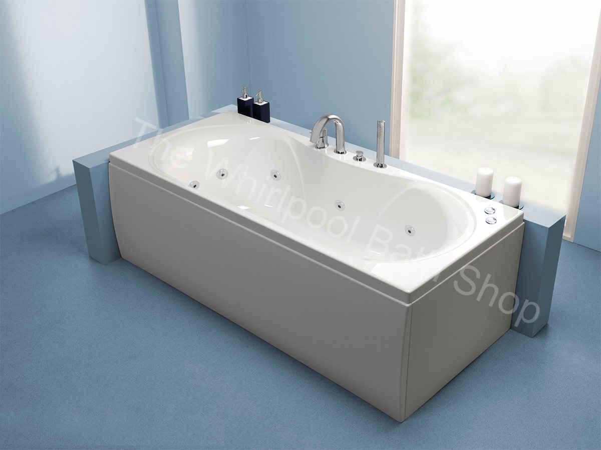 10 Jet Carron Arc Duo Whirlpool Bath Room Set