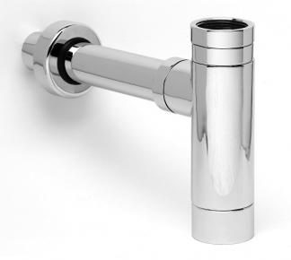 Moods Modern Round Bottle Trap - Chrome
