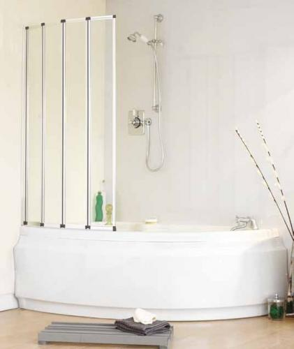 Volente Folding Shower Screen For Baths