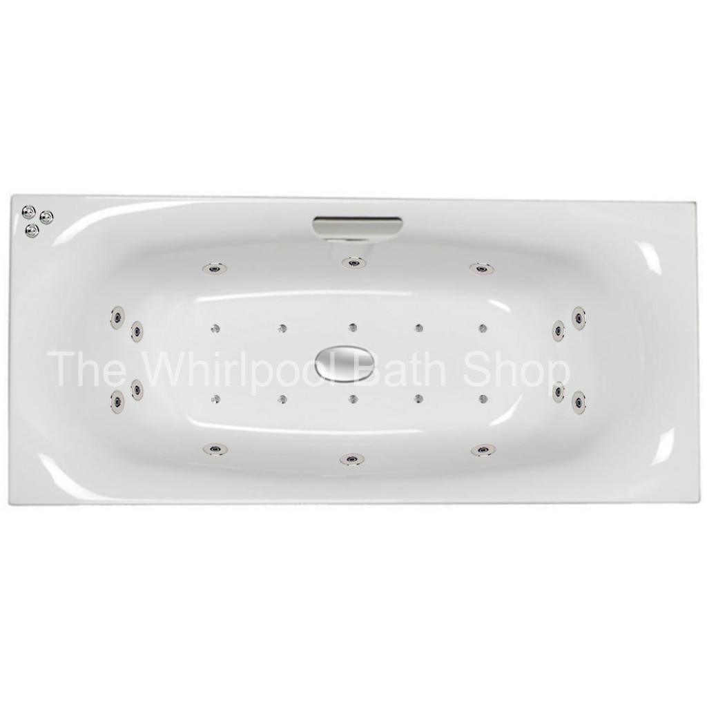 24 jet Carron Echelon 1700 x 750 mm Whirlpool Bath