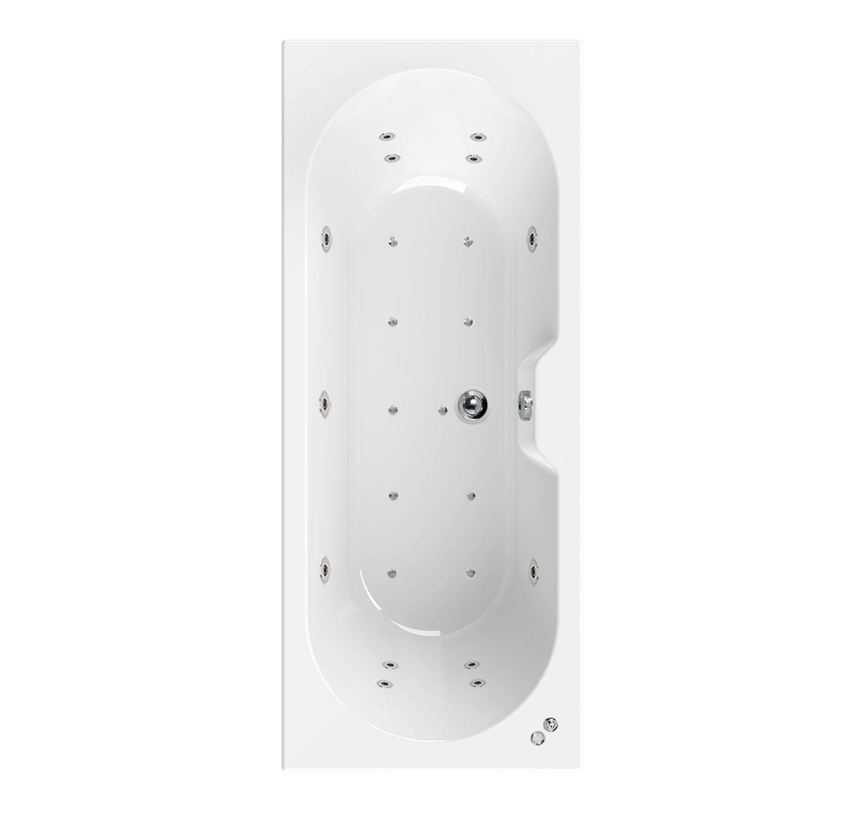 Aquaestil Calisto 24 Jet Whirlpool Spa Bath