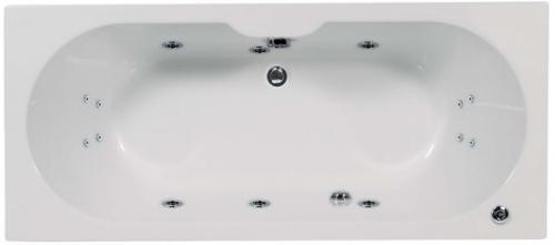 Artesan Gem - 1800 x 800 5mm 14 Jet Whirlpool Bath