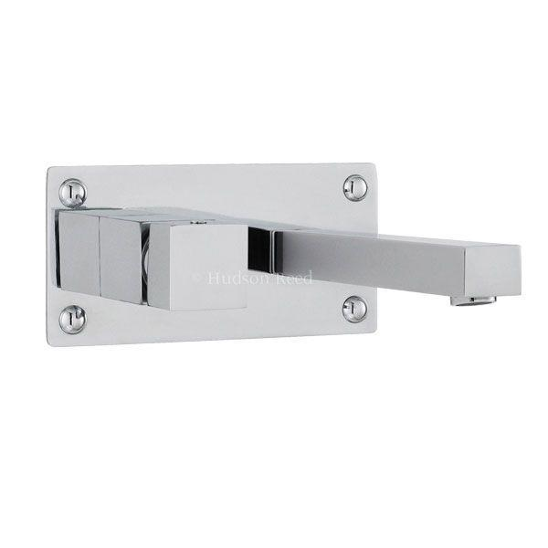 Hudson Reed Kubix Square Wall Mounted Basin-Bath Filler Tap KUB3