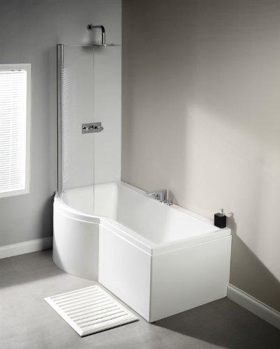 LH Carron Urban 1500 Mm Whirlpool Shower Bath