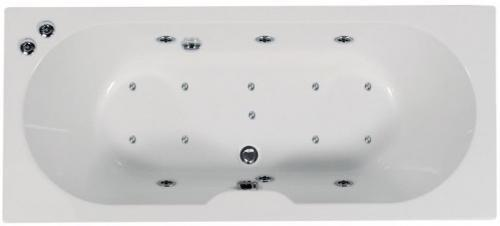 Artesan Gem - 1700 x 750 5mm 16 Jet Whirlpool Spa Bath