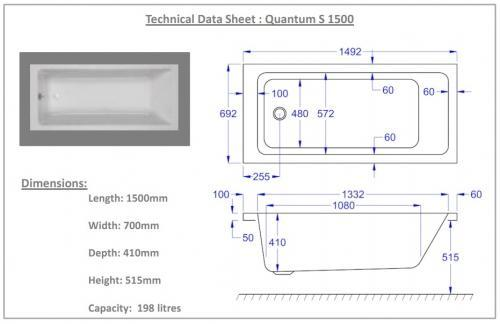 1500mm quantum technical drawing