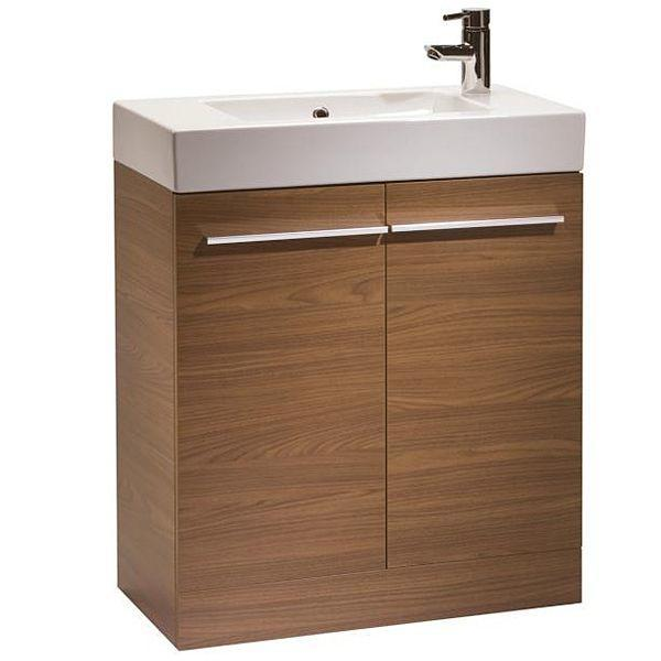 Tavistock Kobe 700mm Walnut Floorstanding Vanity Unit & Basin K7