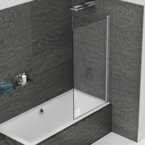 8 mm WBS Standard Single Panel Bath Screen