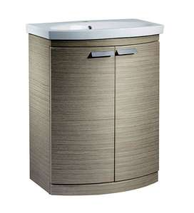 Tavistock Tempo 650mm Light Java Freestanding Vanity Unit & Basi