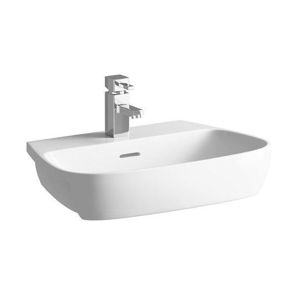 Moods Amyris 1 Tap Hole Semi Recessed Basin 605mm