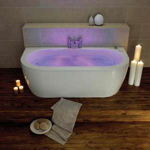 Trojan Decadence 24 Jet Double Ended Chromotherapy Whirlpool Bat