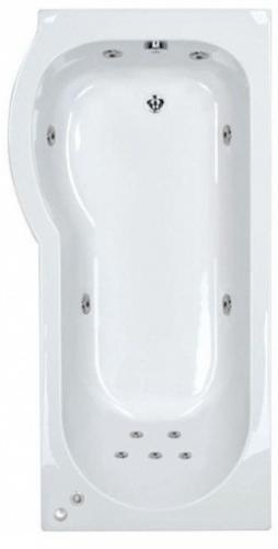 LH 11 Jet Space Saver Whirlpool Shower Bath