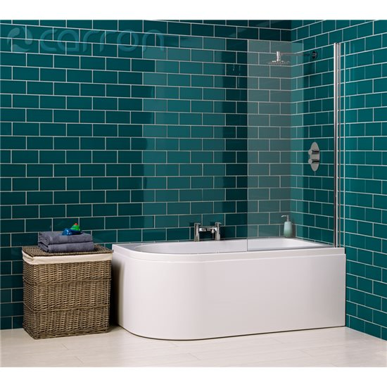 LH Carron Status Whirlpool Shower Bath