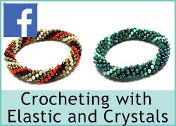 Crochet bracelet with Elastic - 16th October