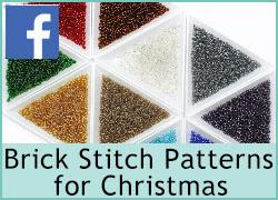 Brick Stitch Patterns for Christmas - 6th December