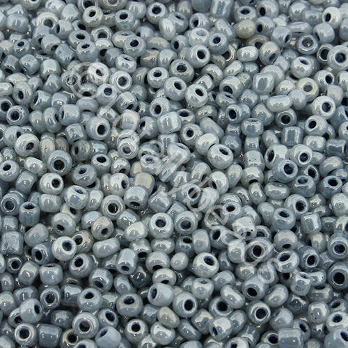Seed Beads Pearl Shine  Grey - Size 11