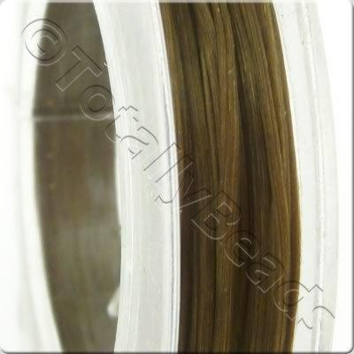 Elastic Flat Brown - 0.5mm - 10m