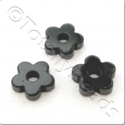 Hematite - Heishi Flower 4mm 190pcs