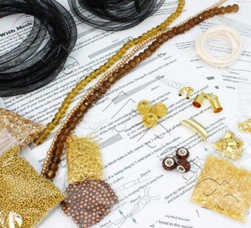 Mesh Starter Kit - Gold/Brown plus MESH