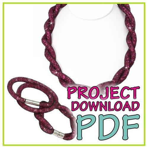 Sparkle (Twist) Necklace - Download Instructions