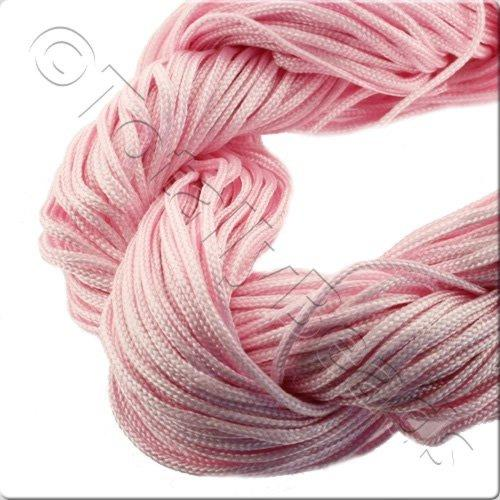 Rattail Cord 1mm Pink - 10m