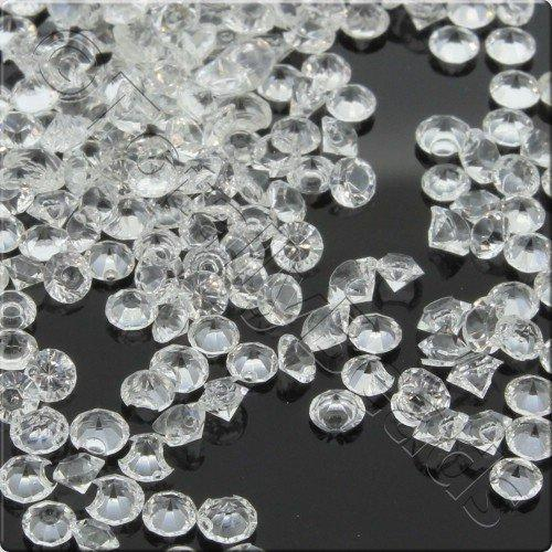 Resin Crystals 2mm - Crystal